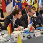 Representatives from Germany, France, and the EU at the 5th IPNDV Plenary